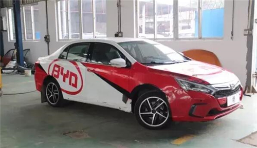 比亚迪,比亚迪秦100改装,CRC赛车,纯电动续航里程,动力电池