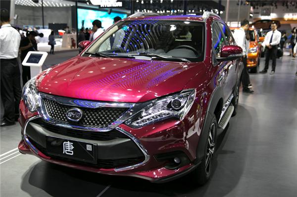 新能源车,比亚迪唐,插电式混合动力