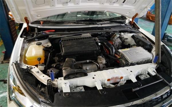 比亚迪,改装,装CRC版秦100,赛车,动力电池