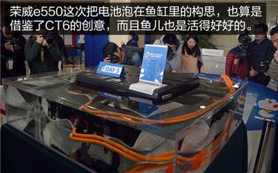 """电池竟能泡水?体验荣威e550""""三电""""技术"""