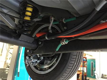 安装轮毂电机的新能源车咋样?