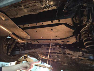 荣威e550燃烧 车主声明 违规操作导致事故高清图片