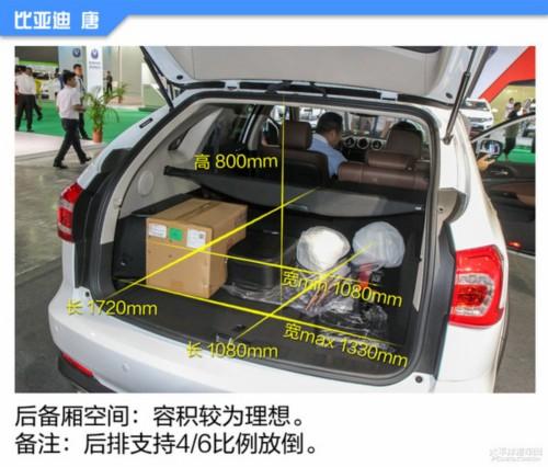 新能源车空间小?14款新能源车空间体验