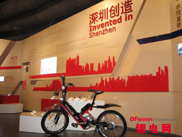 深圳市工业展览馆收藏台铃自主研发4M锂电车