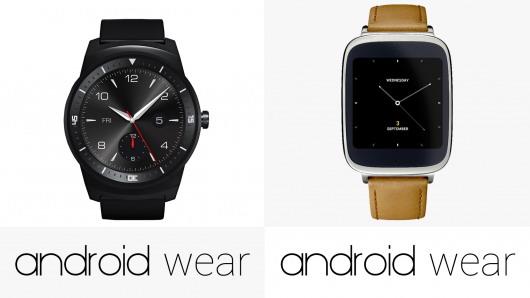 LG G Watch R 对比华硕Zen Watch评测
