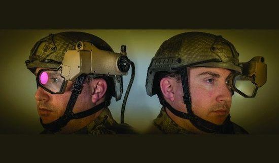 战场上的可穿戴技术:显示技术改变未来战士
