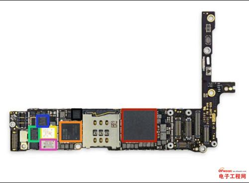 苹果7plus电路板壁纸