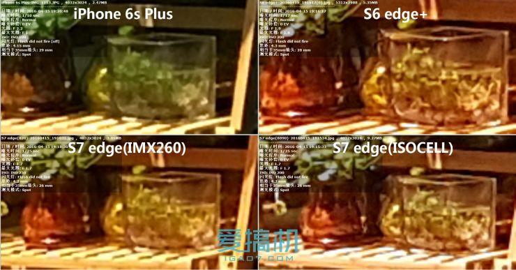 双版三星S7 edge /S6 edge+/iPhone 6sP横评