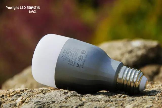 小米Yeelight彩光版智能灯泡评测