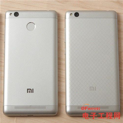 红米手机3S/红米Note 3/红米手机3标准版/高配版对比