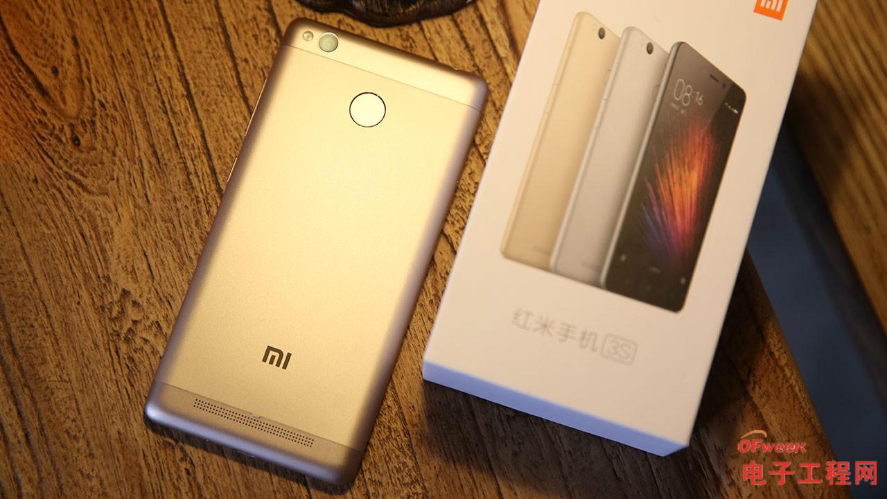 miui 8+指纹识别+4100mAh电池 红米3S体验评测