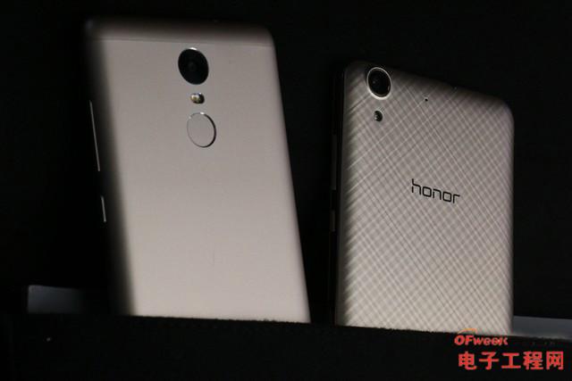 尖Phone对决:荣耀5A PK 红米Note 3