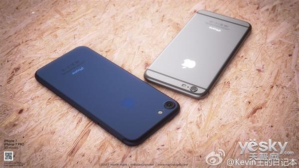 2K屏/双摄像头/触摸式Home键 iPhone 7爆料信息哪些靠谱?