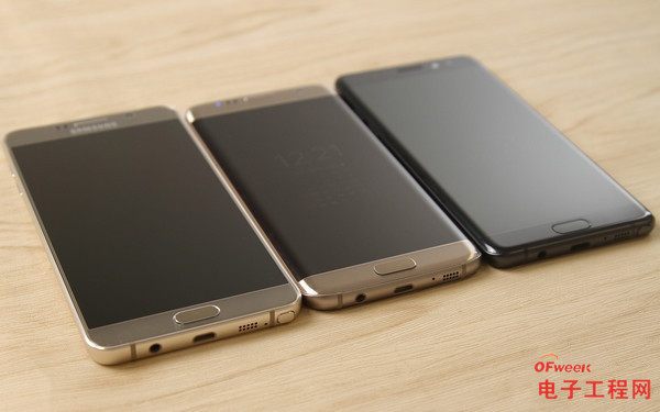 三星Note7/S7 edge/Note5对比评测:实力谁更强 谁才是iPhone 7的竞争对手?