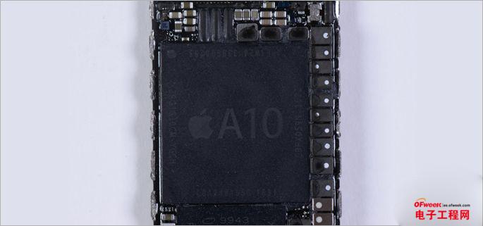 A10 Fusion芯片拆解:缘何能成为最强苹果芯片?