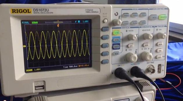波形稳定度调节