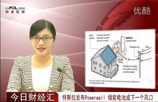 特斯拉发布Powerwall 储能电池成新风口