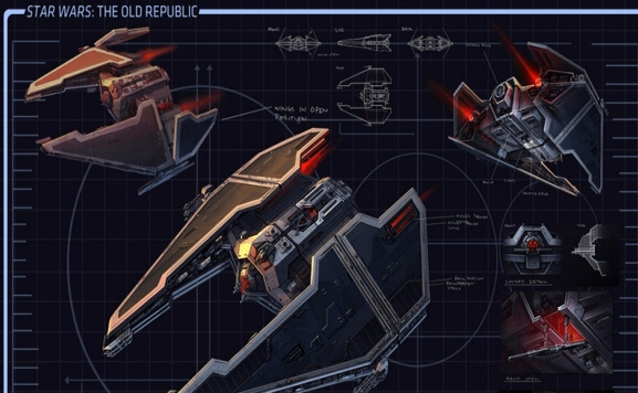 星球大战飞船模型