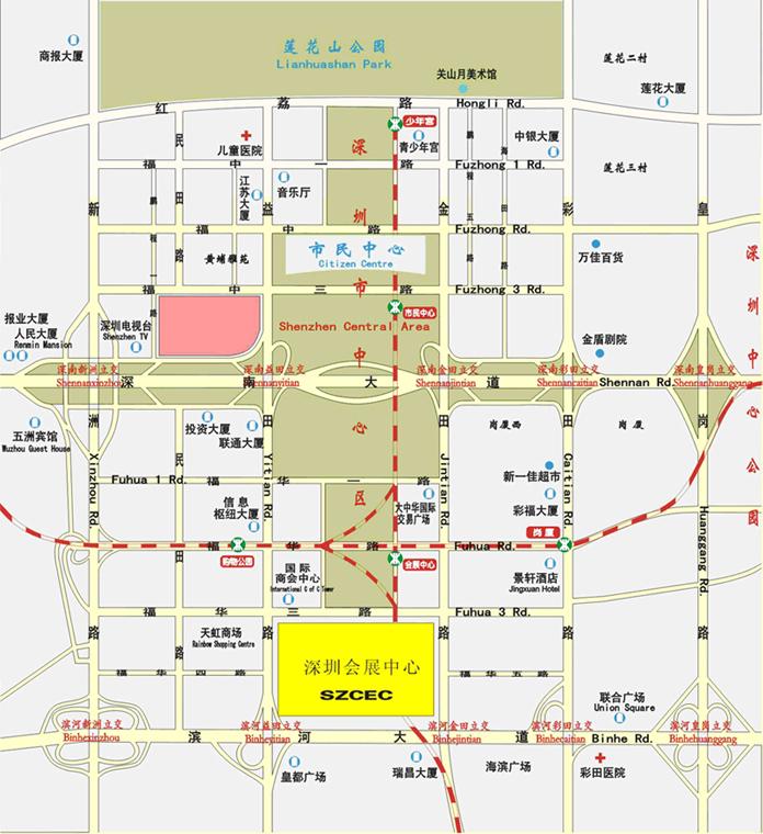 东海职业技术学院 地图